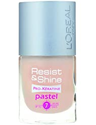 L'Oréal Paris Resist & Shine Pro-Kératine Nagellack, Pastel Care Nr.101, 9 ml
