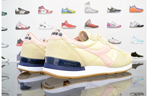 Diadora Camaro, Sneaker a Collo Basso Unisex – Adulto Beige