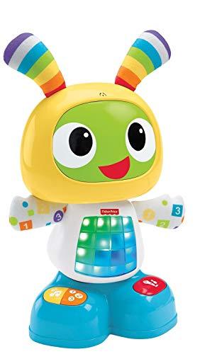 Fisher-Price Robot Robi, juguete de aprendizaje bebé +9 meses (Mattel CGV50)