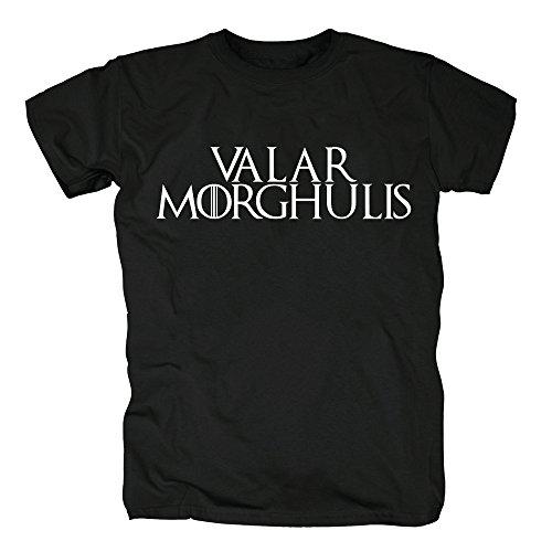 TSP Valar Morghulis T-Shirt Herren XXL Schwarz
