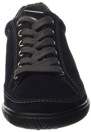 Gabor Shoes Comfort Basic, Derbys Femme Bleu (Nightblue/steel)