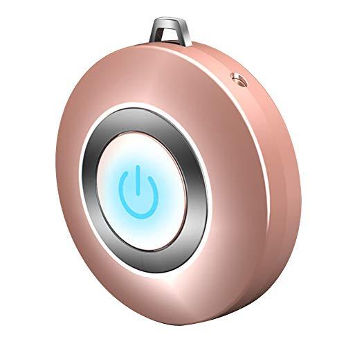 Abracing - Collar de purificador de Aire Personal, portátil, Mini generador de Iones...