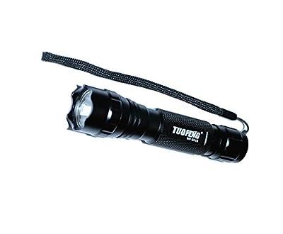 Tuofeng Wf-501b Cree T6-5 Modus 1000 Lumen LED-Taschenlampe für Jagd, Wandern Beleuchtung Licht, etc. und 2 * 4000 mAh 18650 Akku & Ladegeräte von TUOFENG bei Outdoor Shop
