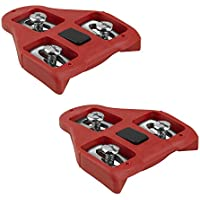 Cales pour pédales compatibles avec look delta (9° de liberté angulaire) cales cyclisme velo