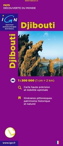 Djibouti par IGN Institut Géographique National