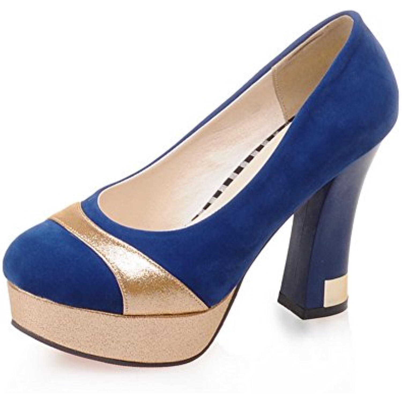BalaMasa BalaMasa BalaMasa Escarpins pour Femme Bleu, 32.5 EU, APL05688 - B01J0ING4E - f1ea3b