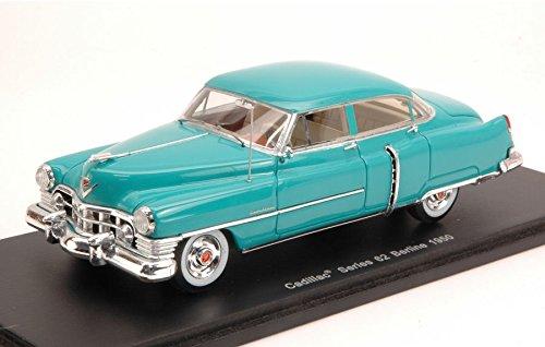 cadillac-series-62-berline-1950-pvgreen-143-spark-model-auto-stradali-modello-modellino-die-cast