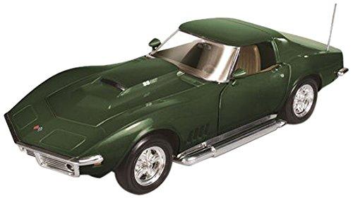 auto-world-amm1010-vehicule-miniature-modele-a-lechelle-chevrolet-corvette-1969-echelle-1-18