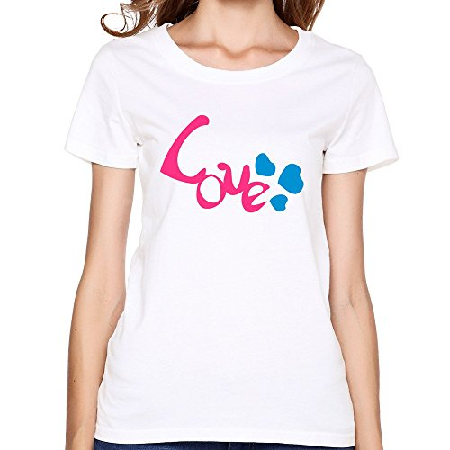 Dzzlee Clothes -  T-shirt - Uomo bianco (American Heart Baby T-shirt)