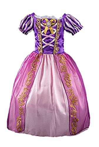 Prinzessin Kleid Grimms Märchen Kostüm Cosplay Mädchen Halloween -
