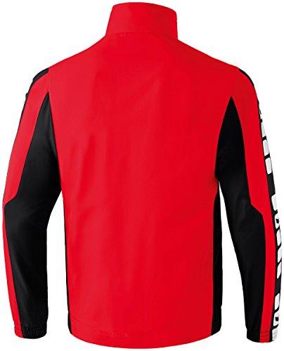 CLASSIC 5-CUBES Präsentationsjacke Rot/Schwarz/Weiß