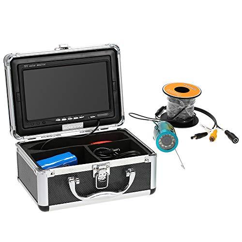 KKMOON HD Caméra 1200TVL 50M Underwater Fish Finder...