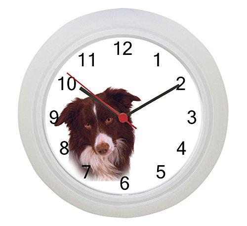 Border Collie Uhr -