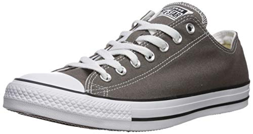 Converse Unisex-Erwachsene Chuck Taylor All Star-Ox Low-Top Sneakers, Grau (Charcoal), 44 EU