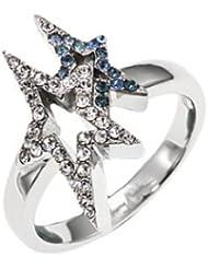 Thierry Mugler anillos Mujer acero inoxidable circón
