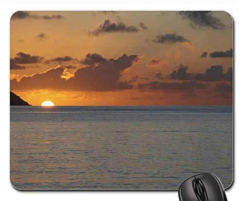 Mouse Pads - Beach Sunrise Caribbean St Thomas