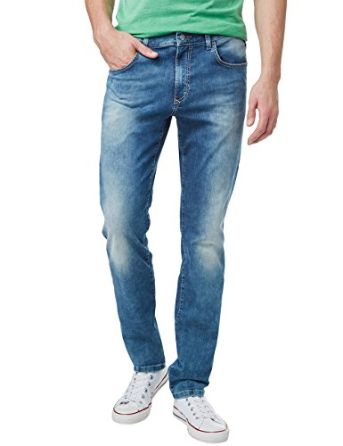 Pioneer Storm, Straight (Coupe Jambe Droite) Homme Blau (stone 346)
