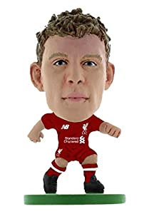 SoccerStarz SOC923 Liverpool James Milner-Home Kit (2019 Version)/Figuras, Verde