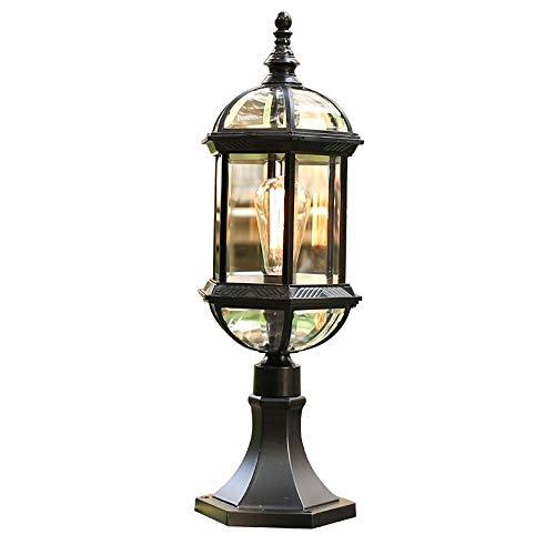 DLINMEI Wasserdichte Retro Post Licht Haushalt Spalte Licht Terrasse Spalte Scheinwerfer regendicht Led Beleuchtung Dekoration Säule - Watt-kandelaber-sockel Licht Lampen
