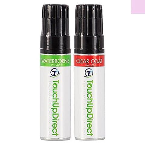 TouchUpDirect Chevrolet Spark Retouche de Peinture Identique pour Automobile - GQL/WA896T Lucious Kiss Pink Metallic - Bocal 15 ml