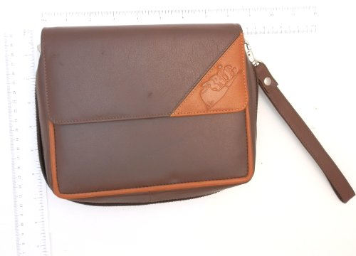 Schwarze Napa Leder (Schaf Napa Tabakpfeife aus Leder Combo-Vier Rohre und Tabakbeutel & Tool Taschen)
