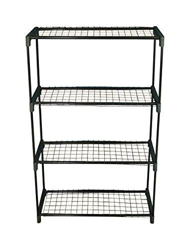 Selecciones GF756 4-pisos para invernaderos estantería para macetas