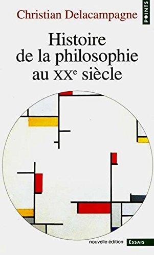 Histoire de la philosophie au xxe siecle
