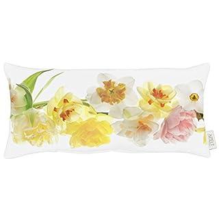 APELT Kissen, Polyester-Baumwolle, Gelb/bunt, 24 x 48 x 10 cm