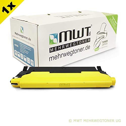 1x Kraft Office Supplies Toner für Dell 1230 1235 c CN ersetzt 593-10496 F479K 59310496 Gelb M127K Yellow - 1235 Laser-drucker