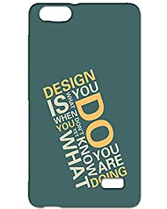 Webplaza Huawei Honor 4x back cover Designer Matte Finish