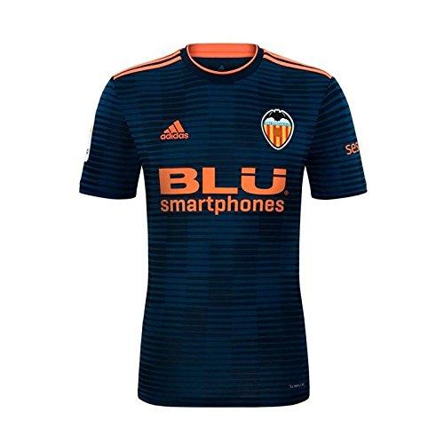 adidas Camiseta Valencia CF Segunda 2018-2019 Collegiate navy-Semi sol