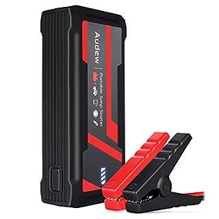 Audew Auto Starthilfe Jump Starter Autobatterie Anlasser Tragbare Auto Akku Ladegerät 800A 16800mAh