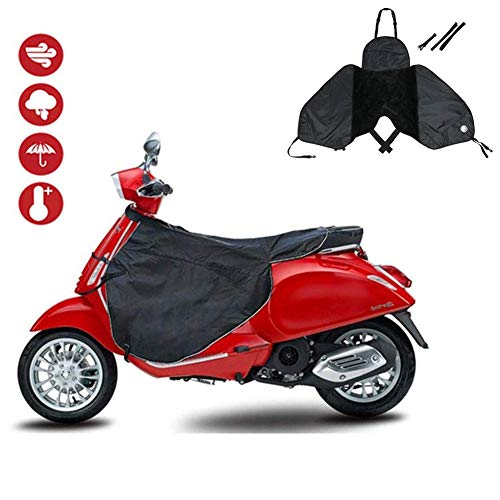 Ranget Coprigambe per Scooter Coprigambe Impermeabile per Scooter Grembiule Antivento per Gambe Calde per Scooter, Auto elettrich
