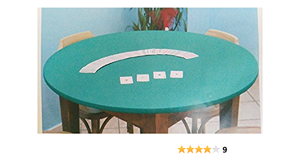 Copritavolo VERDE con elastico,protezione tavolo sotto tovaglia. 110x140 cm