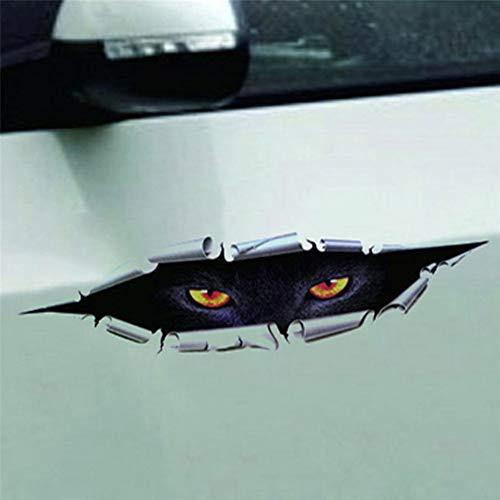 AITU Auto Aufkleber Auto Aufkleber Happy Halloween Auto Wall Home 3D Aufkleber Wandbild Decor Aufkleber Removable