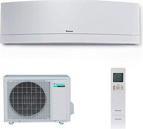 Condizionatore climatizzatore daikin emura bianco 12000 btu ftxj35mw r32 completo macchina interna + esterna