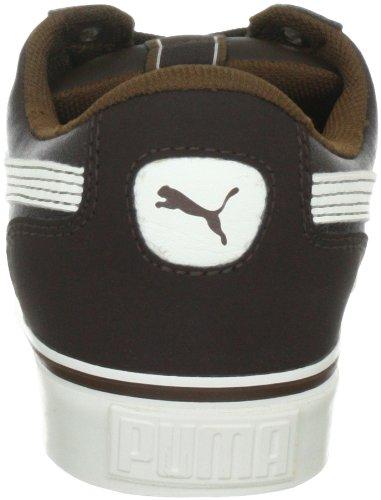 Puma Sky 2 Low Vulc, basket mixte adulte Marron - Braun (chocolate brown-whisper white 09)