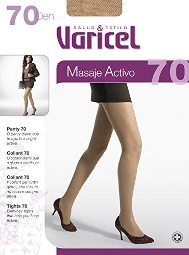 PANTY 70 compresión media (11/14 mmHg) proporciona un eficaz masaje que activa la circulación, descansa y relaja tus piernas. Alivia el cansancio, dolor o hinchazón de piernas. (AZUL, M)