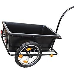 GRAFNER XXL Fahrradanhänger Fahrradlastenanhänger Handwagen 150 kg Zuladung