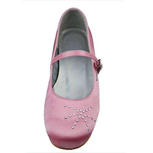 Minitoo , Sandales Compensées Fille Rose