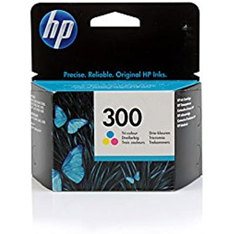 Original HP CC643EE / Nr 300 tinta (cmy, volumen 4 ml) para Deskjet D 1600, 1660, 2500, 2530, 2545, 2560, 2566, 2600, 2660, 5560, 5660; Deskjet F 2400, 2410, 2420, 2430, 2440, 2480, 2492, 4200, 4210, 4224, 4230, 4235, 4240, 4272, 4275, 4280, 4424, 4435, 4440, 4450, 4470, 4472, 4480, 4492, 4500, 4580; Envy 100, 110, 111, 114, 120, 121; Photosmart e-All-in-One D 110; Photosmart C 4600, 4610, 4635, 4640, 4650, 4670, 4680, 4685, 4690, 4700, 4740, 4750, 4780, 4785, 4795