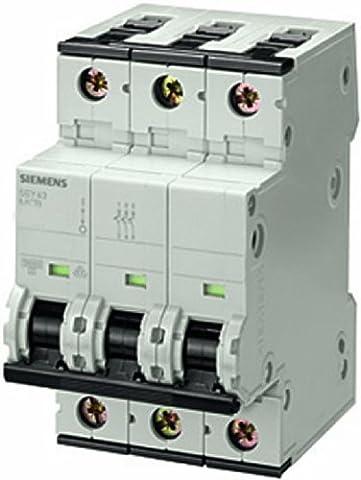 Siemens Indus.Sector LS-Schalter 5SY4304-8 10KA,3p,D,4A,T=70mm SENTRON Leitungsschutzschalter 4001869202419