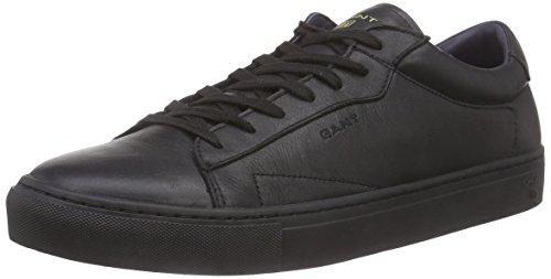 GANT Bryant, Low-Top Sneaker uomo, Nero (Schwarz (black  G00)), 44