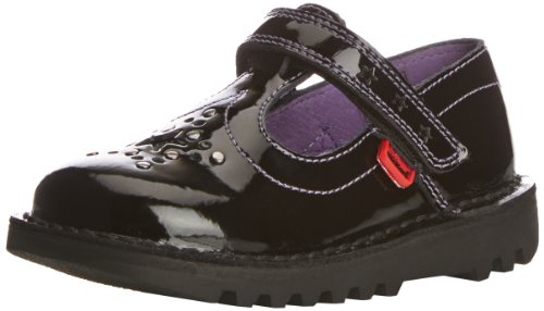 Kickers Girls' Kick T Star Patl IF Mary Jane Flats - Black...