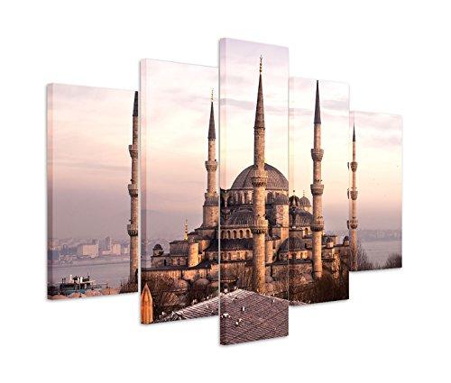 Modernes Bild 150x100cm Architekturfotografie – Blaue Moschee in Istanbul