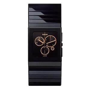 Rado R21714722 Ceramica Mens Watch -Black Dial Black Ceramic Quartz Movement