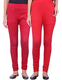 Belmarsh Warm Leggings - Pack of 2 (Maroon_Red)