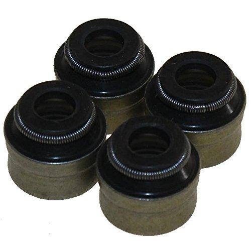 4 Stück Ventilschaftdichtungen für Piaggio X7 X8 X10 125 350 - 350 Ventildeckel