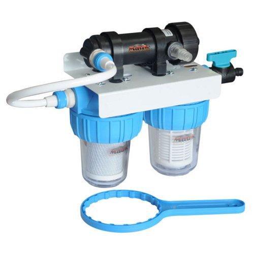 Mauk 601 Kombifilter UV-C Netz-/Aktivkohlefilter, 7 W