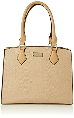 HENLEY Womens Lauren Top-Handle Bag Beige